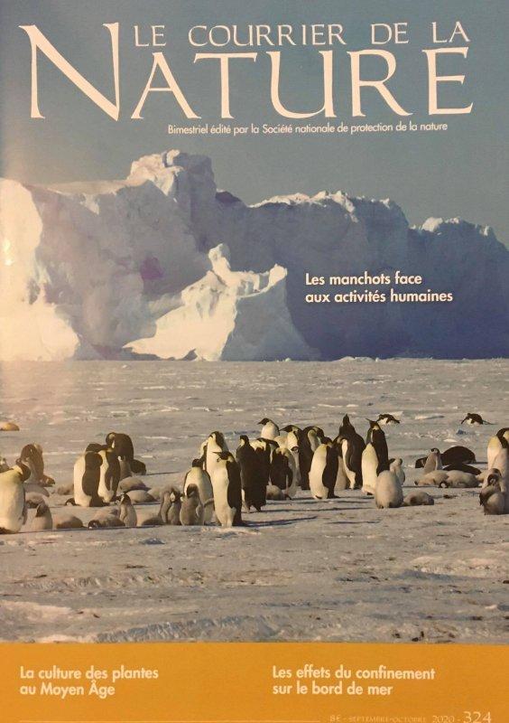 « Le courrier de la NATURE », n°324 (séptembre – octobre 2020)